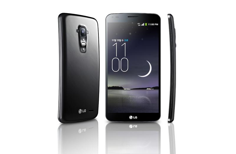 LG G Flex text