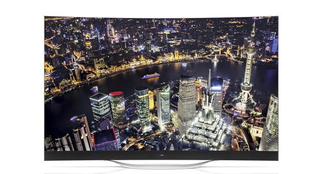 LG ULTRA HD CURVED OLED TV 2014 1
