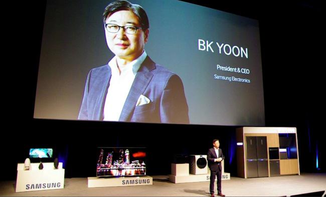 BK Yoon President CEO Samsung