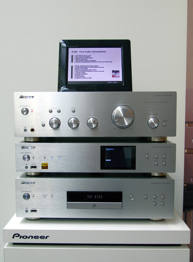 Pioneer A 50 PD 50 N 50 IMGP0588