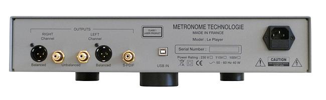 metronome techologie le player otraga