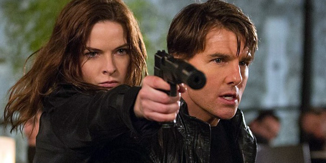 Mission Impossible Rogue Nation header