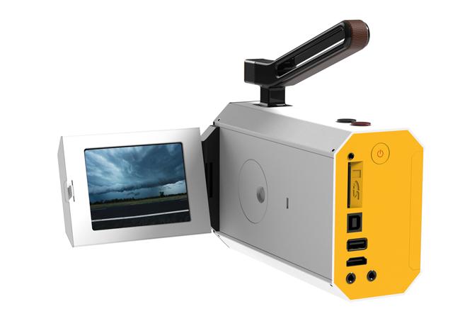 Kodak Super 8 LCD White web mala