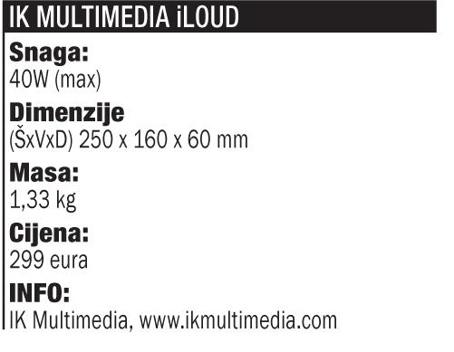 TEST IK Multimedia iLoud tablica