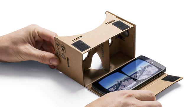 google cardboard android VR mala