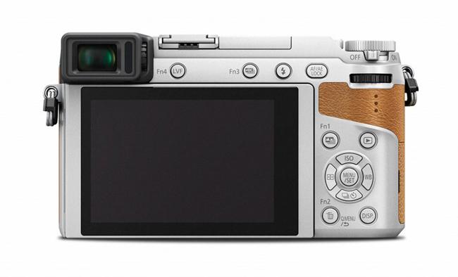 Panasonic Lumix DCM GX80 otraga mala