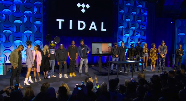 Tidal owners stage
