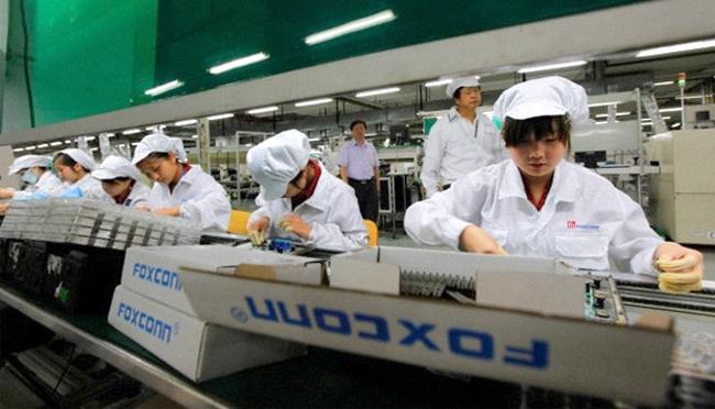 foxconn radnici