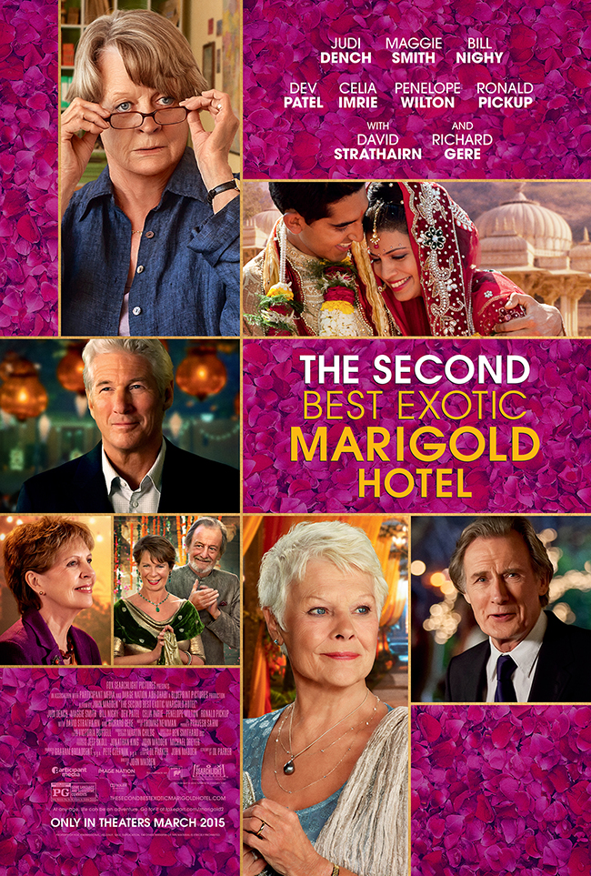 Marigold hotel 2<br>(The Second Best Exotic Marigold Hotel)