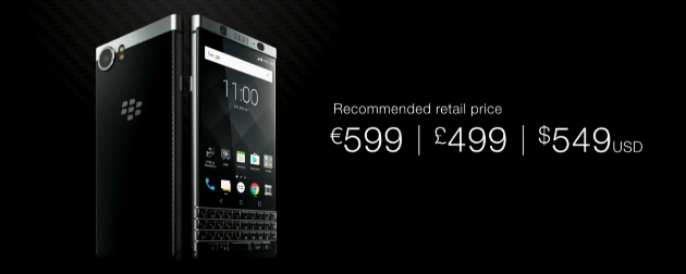 bberry keyone price