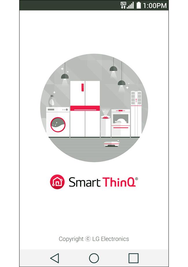 SmartThinQ app