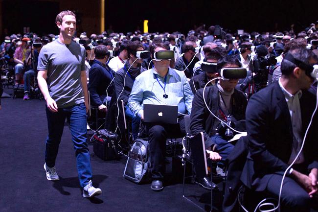 FacebookSamsungVR Zucherberg mala