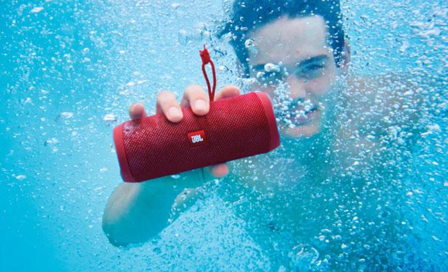 JBL Flip 4 Waterproof Bluetooth Speaker Black 4 copy