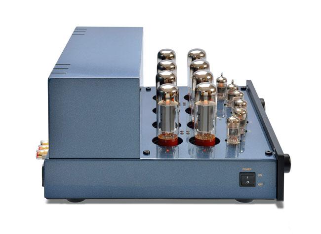 PrimaLuna DiaLogue Premium HP Integrated Amplifier side OPT