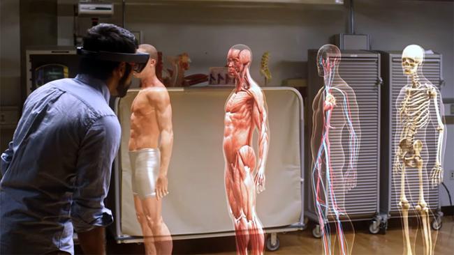 microsoft hololens medical studies