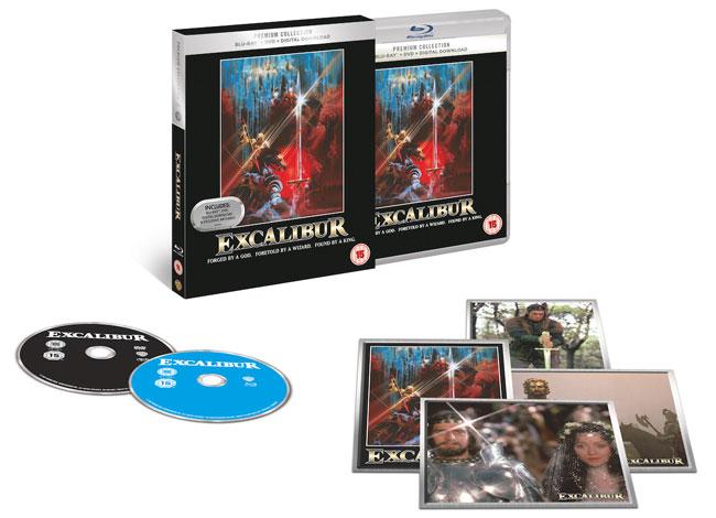 Excalibur Blu ray izdanje