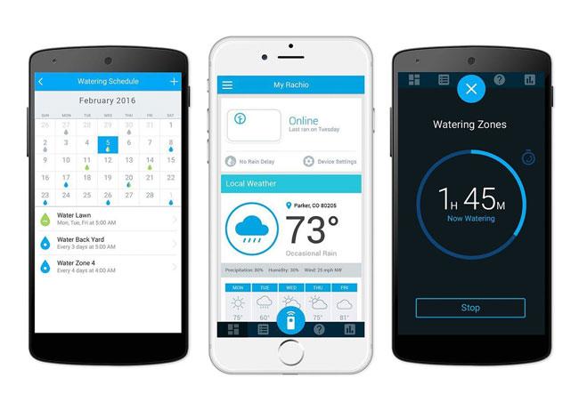 Rachio smart sprinkler controller 2nd generation opt