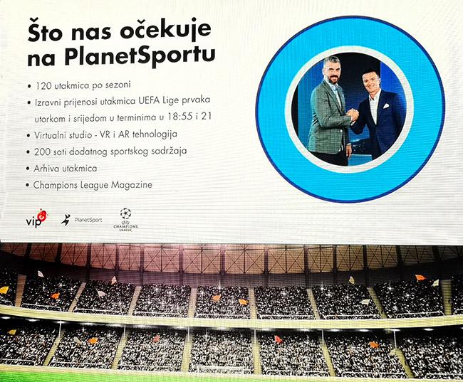Vip PlanetSport prednosti