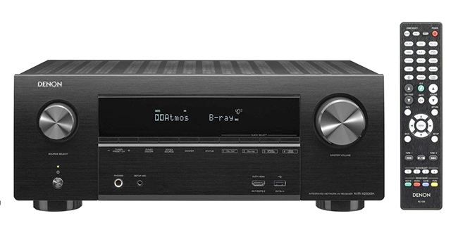 AVR X2500H front