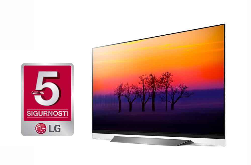 LG 65 E8 produljena sigurnost web