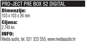Pro Ject Pre Box S2 Digital tablica