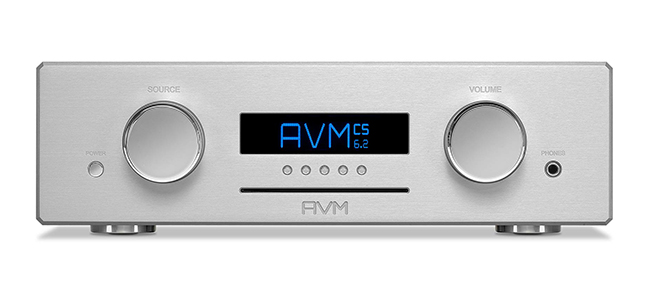 AVM CS 6.2 Silver Front web