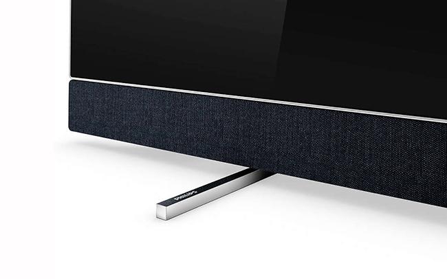 Philips 65OLED903 soundbar detalj web
