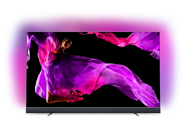 Philips OLED 903 Front Ambilight