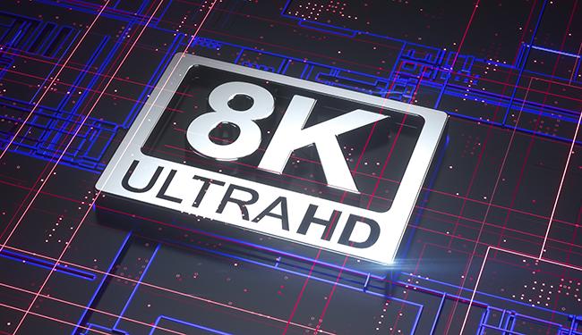 8K NHK TV